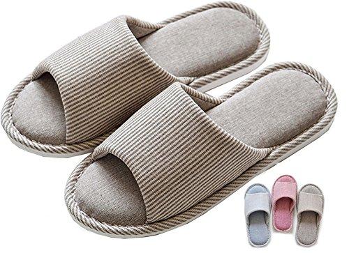 Zapatillas de estar por casa mujer hombre biorelax invierno cerradas andar niños peluche nordikas niña pies calienta abiertas pantuflas originales para termicas slippers zapatos gris 41-42