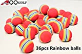 Stricknadel Golf Rainbow Schaumstoff Ball Golf Praxis Training Aids Schwamm Bälle