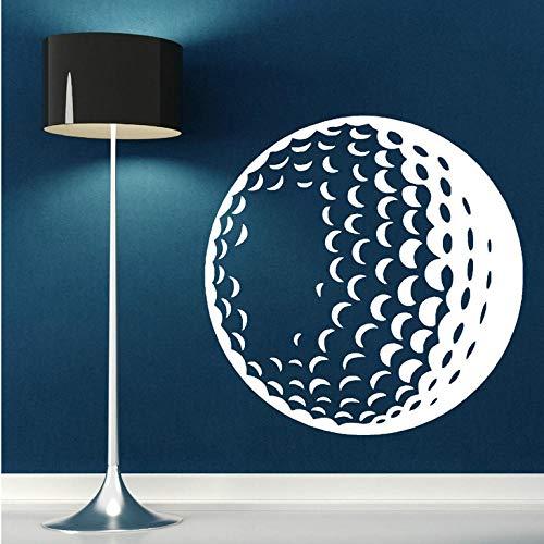 Wandaufkleber Abnehmbare 3D Poster Golf Ball Vinyl Wandkunst Aufkleber Sport Thema Aufkleber Wandaufkleber Wohnkultur Wohnzimmer