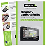 dipos I 2X Schutzfolie matt passend für Medion Gopal E4470 MD 99285 Folie Displayschutzfolie
