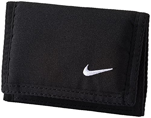 Nike Basic Wallet Geldbörse, Black/White, One Size