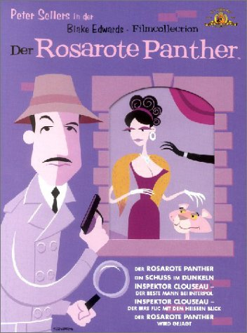 Der Rosarote Panther Film Collection (6 DVDs) (Der Film Panther)