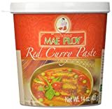 Mae Ploy Red Curry Paste 400 g (Pack of 4)