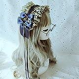 Haar-Accessoires Fashion Strange Klassiker Lolita Gothic dunkle Serie lustigen Haargürtel Haarreife Schmuck