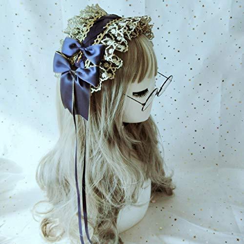 Haar-Accessoires Fashion Strange Klassiker Lolita Gothic dunkle Serie lustigen Haargürtel Haarreife Schmuck -