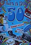 50. Geburtstagskarte, Geburtsjahr 1966, fürHerren