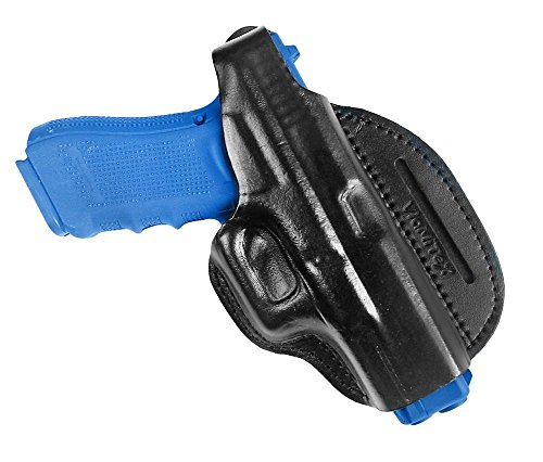 Leder Cross Draw Bodyguard Holster für Glock 17 19 22 23 25 26 27 31 32 34 37