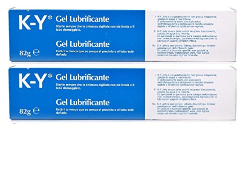 K-Y Personal Lubricant Sterile, 82g - Set of 2