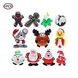 Hilai Tema de Navidad chillona Perro Juguetes No-Relleno Juguete mordedura Juguete Resistente para Mascotas Perro de 1PC Color al Azar