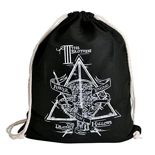 Preisvergleich Produktbild Harry Potter Sportbag Die Drei Brüder von Elbenwald schwarz