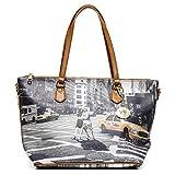 Y NOT? - Femme sac a bandouliere shopper shopping medium new york walk in n.y.
