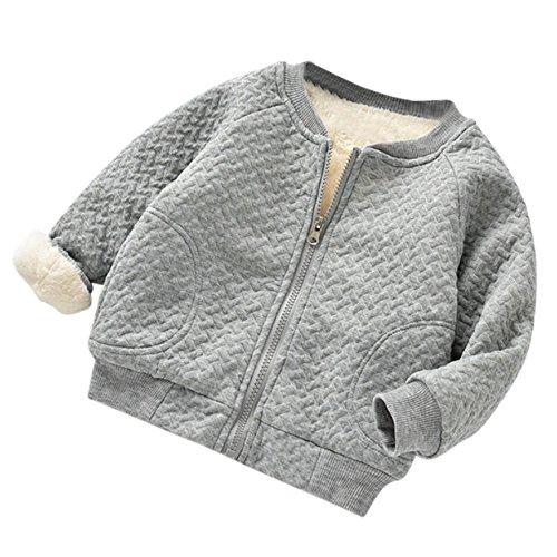 Longra Abrigo para Bebés Abrigo Bebés Outwear Jersey Invierno Chaqueta Ropa para...