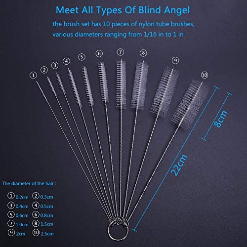 Zoom IMG-2 dekool 10 pezzi spazzola scovolino