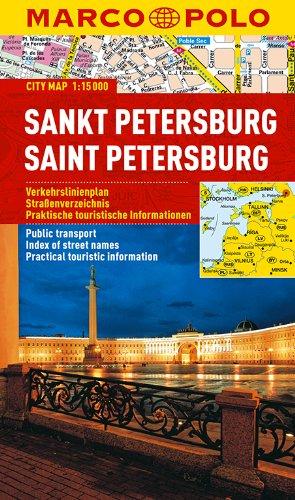 MARCO POLO Cityplan Sankt Petersburg 1:15 000 (MARCO POLO Citypläne)