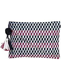 Diwaah Evergreen Handmade Rafia Zip Top Clutch Purse-Sling Bag-Cross Body Bag