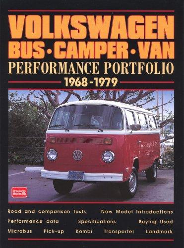Volkswagen Bus Camper Van Performance Portfolio 1968 1979