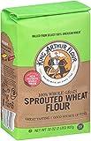 King Arthur Flour - 100% Whole Grain Sprouted Wheat Flour - 32 oz.