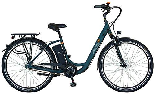 Prophete E-Bike, 26', Geniesser e8.6,Vorderradmotor, 36V, 250W, max. 30Nm, 7-Gang Nabenschaltung , SAMSUNG SideClick Lithium-Ionen, 36V, 10,4Ah (374Wh), Rücktrittbremse, Alu-Urban-Premium-Rahmen CUBUS