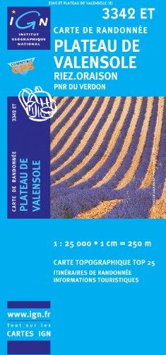 Plateau De Valensole/Riez/Oraison/PNR Du Verdon GPS