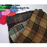 Grab Offers Winter Wear Warm Lightweight Women's Checkered Stoles(Random Design- Color - 1 Pcs)