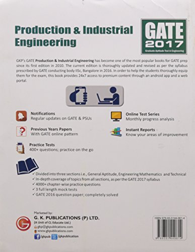 GATE Guide Production & Industrial Engineering 2017