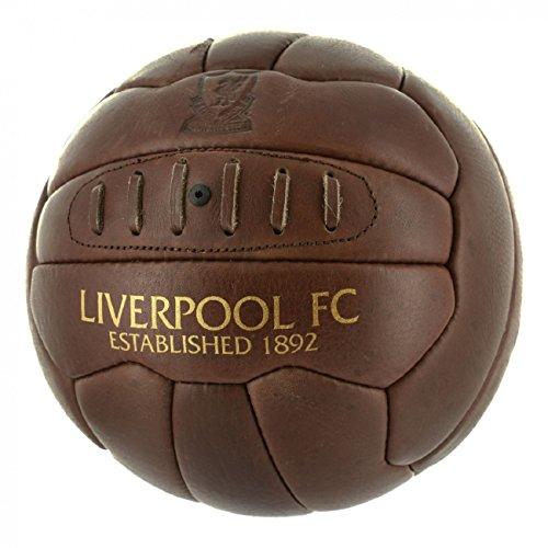 FC Liverpool Retro Ball Fußball Football (brwon, 5) (Liverpool-fußball-ball)