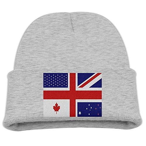 Preisvergleich Produktbild shjsertjs Canadian Flag Combination Kid's Hats Winter Funny Soft Knit Children Unisex