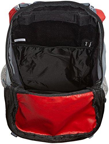 Abbey Pluto Preis Parade - Zaino da trekking, 55 L Rosso - rot grau schwarz