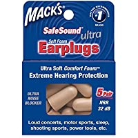 Macks Soft Foam Earplugs Ultra 5-pair Box preisvergleich bei billige-tabletten.eu