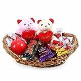 #7: Cadbury Chocolate Basket With Teddy of Love