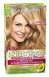 Garnier Nutrisse Strahlendes Blond Intensiv Creme-Coloration, 8.13 goldenes aschblond