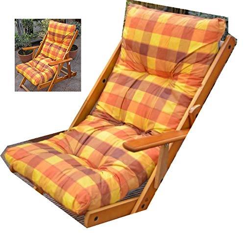 Liberoshopping.eu - la tua casa in un clik cuscino imbottito di ricambio per poltrona sdraio relax tessuto antistrappo colore giallo li340