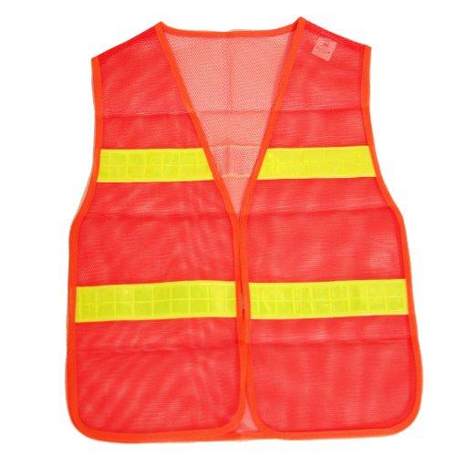 Preisvergleich Produktbild BRUBAKER Sicherheitsweste Orange gemäß DIN Norm EN471