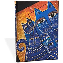 Smythe Sewn Fantastic FelinesMediterranean Cats Lined Mini Wrap (Stationery)