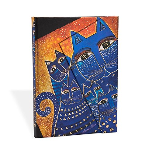 Paperblanks Fantastic Felines Mediterranean Cats Mini Notebook with Lined Pages par Paperblanks Book Company