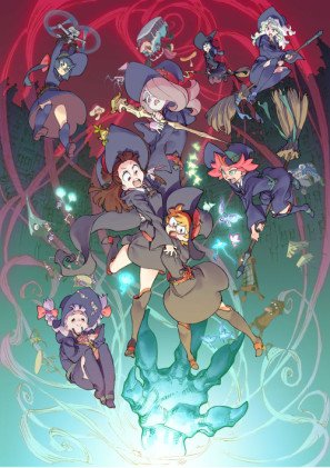 little-witch-academia-mahou-shikake-no-parade-imported-movie-wall-poster-print-30cm-x-43cm-brand-new