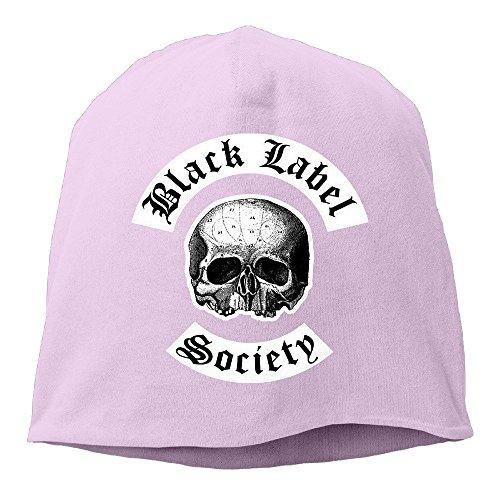 hittings-m-black-label-society-unisex-skull-cap-warm-hat-one-size-pink