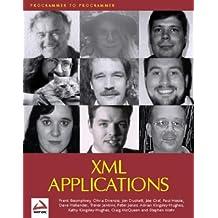 Xml Applications (Programmer to Programmer)