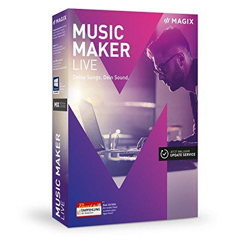 Preisvergleich Produktbild MAGIX Music Maker – 2017 Live Edition – Musik machen mit Loops