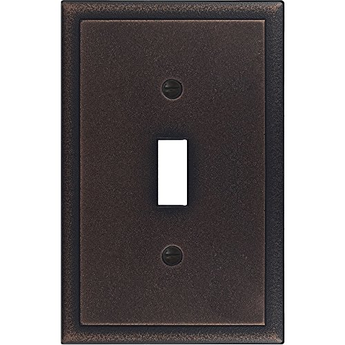 questech Ambient Satin Switch Plate/-Auslass Cover Single Toggle Oil Rubbed Bronze - Toggle Cover