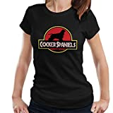Jurassic Cocker Spaniels Women's T-Shirt
