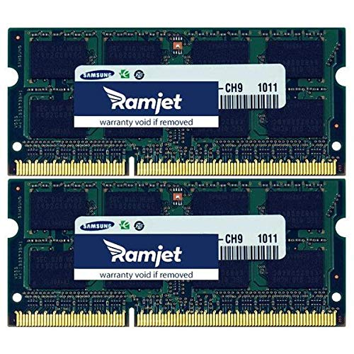 Macmemory Net 16GB (2x 8GB) DDR31333Upgrade Arbeitsspeicher für iMac 11,3(i5& i7) 12,112,2 -