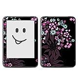 Skins4u Tolino VISION Skin Design Schutzfolie Sticker Set - Dark Flowers