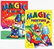 4 X A4 Magic Painting Book