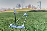 'PlayaPutt improver 'Green/exterior, Original, de ayuda de entrenamiento para, Absolute novedad, New Golf Putt Entrenamiento Aid, Exterior, Improve Your Putting, inmediata mejor putten, Golf Tool from Beginners to Pro, Lightweight, Super Practical, Easy to Store,