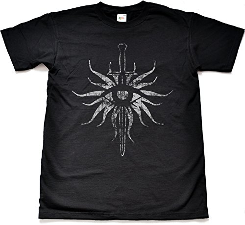 Teamzad Distressed Inquisition Camiseta para hombre Medium