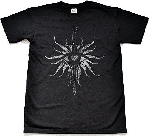 Distressed Inquisition Black T Shirt