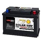 Solarbatterie 100Ah 12V Versorgungsbatterie Wohnmobil...