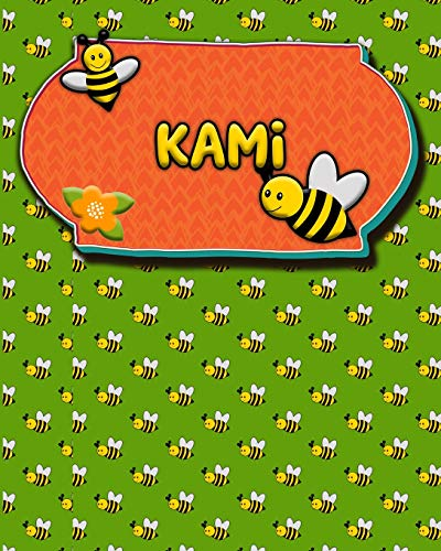 Handwriting Practice 120 Page Honey Bee Book Kami: Primary Grades Handwriting Book K-2