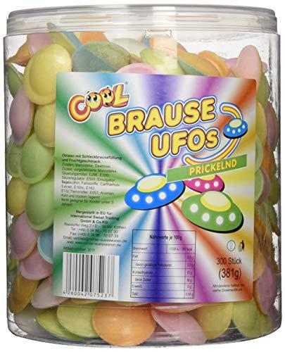 Preisvergleich Produktbild Cool Brause Ufos 300 Stück in Frischhaltedose wiederverschließbar (1 x 381 g)